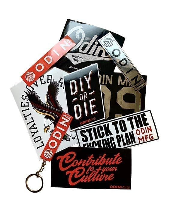 Sticker and Keychain Pack